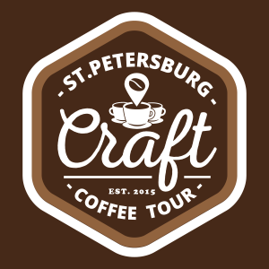 St Pete Coffee Tour Logo